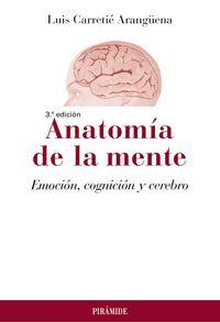 ANATOMIA DE LA MENTE - EMOCION, COGNICION Y CEREBRO