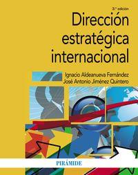 (3 ED) DIRECCION ESTRATEGICA INTERNACIONAL