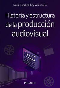 HISTORIA Y ESTRUCTURA DE LA PRODUCCION AUDIOVISUAL