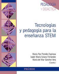 TECNOLOGIAS Y PEDAGOGIA PARA LA ENSEÑANZA STEM
