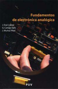FUNDAMENTOS DE ELECTRONICA ANALOGICA