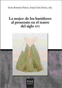 MUJER: DE LOS BASTIDORES AL PROSCENIO EN EL TEATRO DEL SIGLO XVI, LA