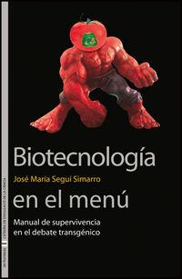 BIOTECNOLOGIA EN EL MENU