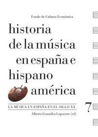 HISTORIA DE LA MUSICA ESPAÑA HISPANOAMERICA 7 - LA MUSICA EN ESPAÑA EN EL SIGLO XX
