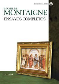 Ensayos Completos (michel De Montaigne) - Michel De Montaigne