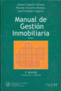 manual de gestion inmobiliaria (2 vols. ) - Antonio Caparros Navarro / Ricardo Alvarellos Bermejo / Juan Fernandez Caparros