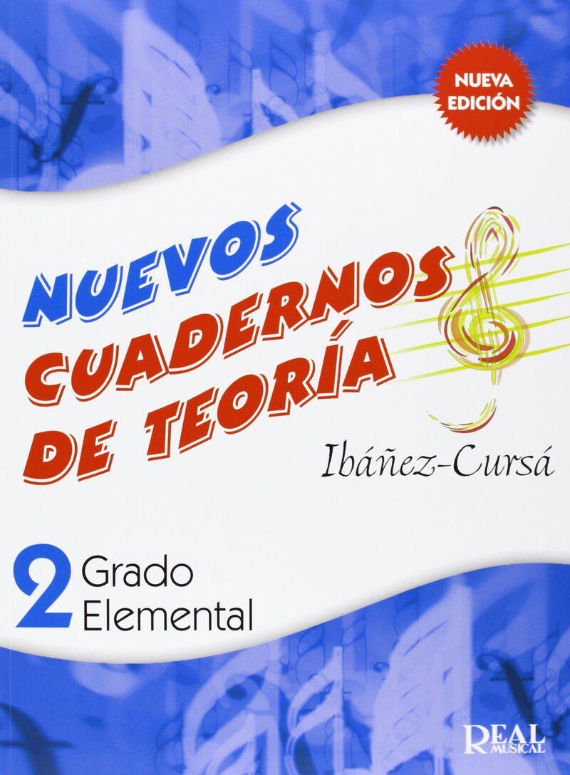 NUEVOS CUAD. DE TEORIA 2 - GRADO ELEMENTAL