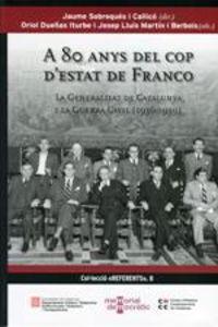 A 80 Anys Del Cop D'estat De Franco - Aa. Vv.