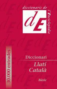 DICCIONARI BASIC LLATI-CATALA + ANEXO