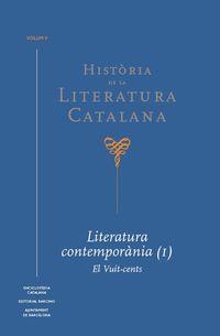 HISTORIA DE LA LITERATURA CATALANA VOL. 5