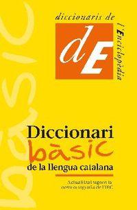 DICCIONARI BASIC DE LA LLENGUA CATALANA