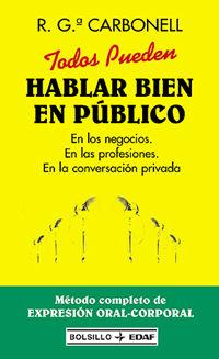 TODOS PUEDEN HABLAR BIEN EN PUBLICO