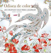 Odisea De Color - Un Viaje Creativo Para Colorear - Chris Garver