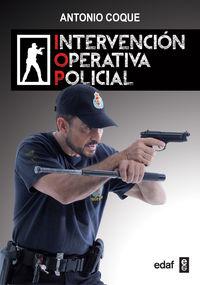 CP - INTERVENCION OPERATIVA POLICIAL
