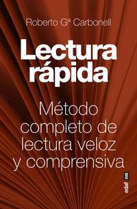 LECTURA RAPIDA - METODO COMPLETO DE LECTURA VELOZ Y COMPRENSIVA
