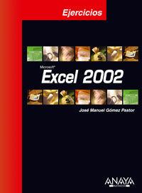 EXCEL 2002 - EJERCICIOS