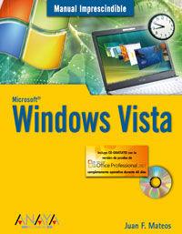 WINDOWS VISTA (+CD)