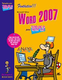 Word 2007 Para Torpes - Aa. Vv.