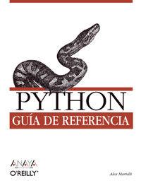 PYTHON - GUIA DE REFERENCIA