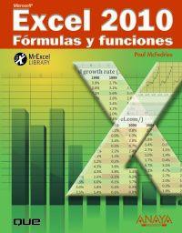 EXCEL 2010 - FORMULAS Y FUNCIONES