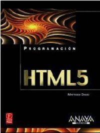 HTML 5 - PROGRAMACION