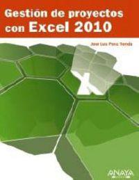 GESTION DE PROYECTOS CON EXCEL 2010