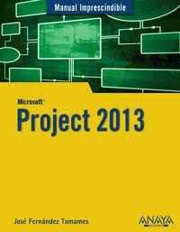 Project 2013 - Jose Fernandez Tamames