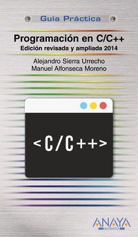 Programacion En C / C++ - Alejandro Sierra Urrecho / Manuel Alfonseca Moreno