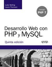 (5 ED) DESARROLLO WEB CON PHP Y MYSQL