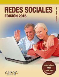 Redes Sociales (edicion 2015) - Ana Martos Rubio