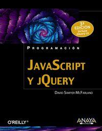 Javascript Y Jquery (3ª Ed) - David Sawyer Mcfarland