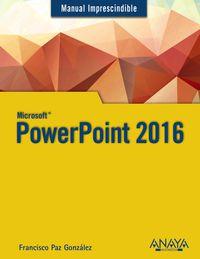 Powerpoint 2016 - Francisco Paz