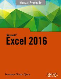 Excel 2016 - Francisco Charte