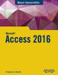 Access 2016 - Francisco Charte