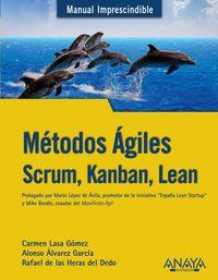 Metodos Agiles - Scrum, Kanban, Lean - Alonso Alvarez Garcia / Rafael De Las Heras Del Dedo / Carmen Lasa Gomez
