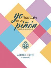 Agenda Semana Vista 2018 - Yo Tambien Soy Un Piñon - Isasaweis