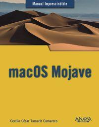 Macos Mojave - Cecilio Cesar Tamarit Camarero