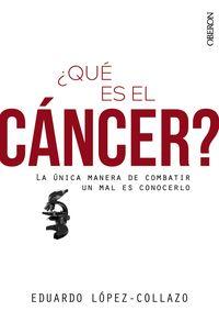 ¿QUE ES EL CANCER?