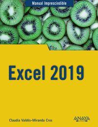 Excel 2019 - Claudia Valdes-Miranda