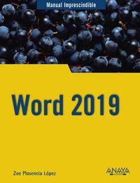 Word 2019 - Zoe Plasencia Lopez