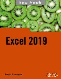 Excel 2019 - Sergio Propergol