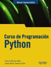 Curso De Programacion Python - Arturo Montejo Raez / Salud Maria Jimenez Zafra