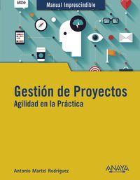 GESTION DE PROYECTOS - AGILIDAD EN LA PRACTICA