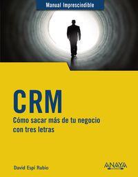 CRM - COMO SACAR MAS DE TU NEGOCIO CON TRES LETRAS