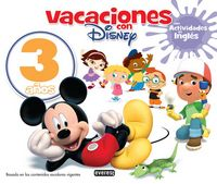 3 YEARS - VACACIONES CON DISNEY - MAS ACT. INGLES