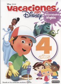 4 YEARS - VACACIONES CON DISNEY - MAS ACT. INGLES