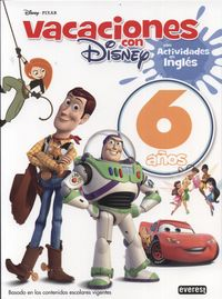 6 Years - Vacaciones Con Disney - Mas Act. Ingles - Aa. Vv.
