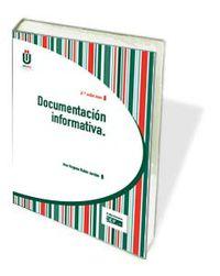 (2 ED) DOCUMENTACION INFORMATIVA 2012