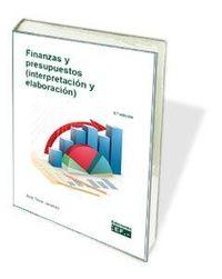 FINANZAS Y PRESUPUESTOS (INTERPRETACION Y ELABORACION)
