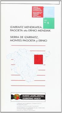 (MAPA) N 6 SIERRA DE IZARRAITZ, MONTES PAGOETA Y ERNIO